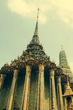 Phra Mondop(the library? at Temple of the Emerald Buddha or Wat Stock Image