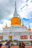 Phra That Na Dun Buddhist Park stock photos