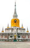 Phra That Na Dun at Maha Sarakhamin Thailand. Stock Photo