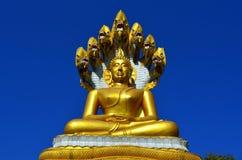 Phra Nak Prok Buddha Arkivbild