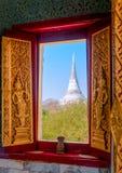 Phra Nakhon historiska Khiri parkerar Khao Wang, Phetchaburi som är thailändsk Royaltyfria Bilder