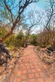 Phra Nakhon historiska Khiri parkerar Khao Wang, Phetchaburi som är thailändsk Royaltyfri Foto