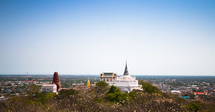 Phra Nakhon Khiri Historical Park Khao Wang, Phetchaburi, Thai Stock Images