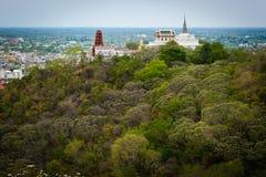Phra Nakhon Khiri Historical Park (Khao Wang) stock images
