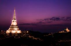Phra Nakhon Khiri historical park, Phetchaburi, Thailand Stock Photography