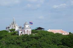 Phra Nakhon Khiri & x28; Khao Wang& x29; Arkivfoton