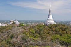 Phra Nakhon Khiri Park is a historical park in Phe Royalty Free Stock Photography