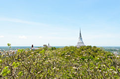 Phra Nakhon Khiri temple Royalty Free Stock Images