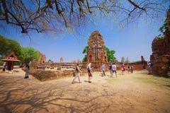 Phra Nakhon Si Ayutthaya Таиланда Стоковые Изображения