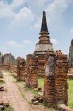 Phra Nakhon Si Ayutthaya, Ayutthaya, Таиланд Стоковое Фото