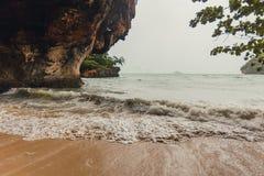 Phra Nang beach in Krabi Royalty Free Stock Photography