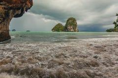 Phra Nang beach in Krabi Stock Photos