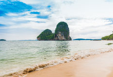 Phra Nang beach in Krabi Royalty Free Stock Image