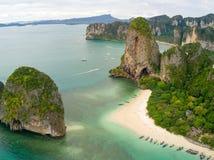 Phra Nang beach Thailand Royalty Free Stock Image