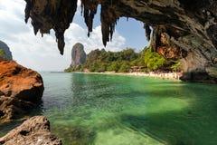 The Phra Nang beach Royalty Free Stock Photo