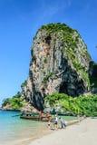 Phra Nang grottastrand Royaltyfri Fotografi