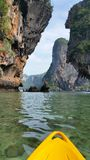Phra Nang plaża, Krabi, Tajlandia Zdjęcia Stock