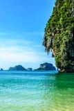 Phra Nang strand Fotografering för Bildbyråer