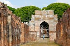Phra Narai Ratchanivet pałac Fotografia Royalty Free
