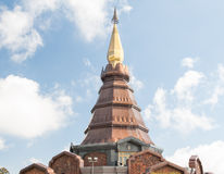 Phra That Noppha Met Ni Don in doi inthanon, Chiangmai, Thailand Royalty Free Stock Images