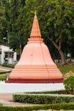 Phra Pathom Chedi在微型泰国公园,泰国 免版税库存照片