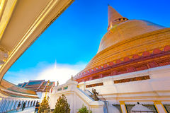 PHRA PATHOM CHEDI – THE TALLEST STUPA IN THAILAND Stock Images
