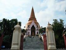 Phra Pathom Chedi塔 免版税库存照片