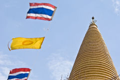 Phra Pathom Chedi. Huge temple Phra Nakhon Chedi in Nakhon Pathom Royalty Free Stock Photography