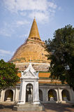 Phra Pathom Chedi stock photography