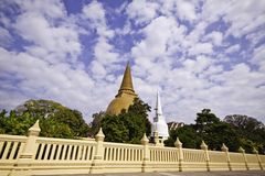 Phra Pathom Chedi Stock Photos