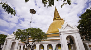 Phra Pathom Chedi Royalty Free Stock Images
