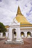 Phra Pathom Chedi Stock Photo