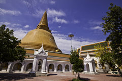 Phra Pathom Chedi Photographie stock libre de droits