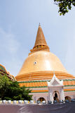 Phra Pathom Chedi Photographie stock