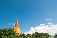 Phra Pathom Chedi Foto de Stock Royalty Free