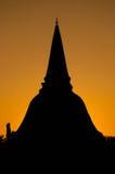 Phra Pathom Chedi stockfotografie