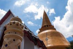 Phra Pathom Chedi Royaltyfri Fotografi