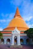 Phra Pathom Chedi. Big stupa at Nakornpratom,Thailand Royalty Free Stock Photo