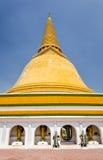 Phra Pathom Chedi en Tailandia Imagen de archivo