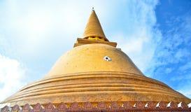Phra Pathom Chedi. The grand chedi in Thailand Stock Photo
