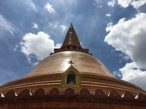 Phra Pathom Chedi. The Great Pagoda Stock Images