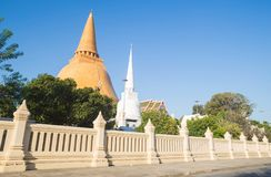 Phra Pathom Chedi. Is located outdoor Stock Photos