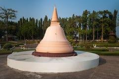 Phra Pathom Chedi in Mini Siam Park Stock Images