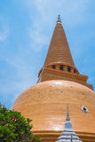 Phra Pathom Chedi at Nakhon Pathom, Thailand. Royalty Free Stock Image