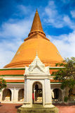 Phra Pathom Chedi of Nakhon Pathom Thailand. Royalty Free Stock Photos
