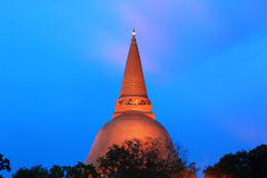 Phra Pathom Chedi Stock Images