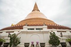 Phra Pathom Chedi. Pagoda at Phra Pathom Chedi Royalty Free Stock Images