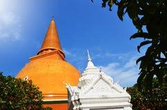 Phra Pathom Chedi. Pagoda, the landmark of Nakhon Pathom province, Thailand Stock Image
