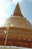 Phra Pathom Chedi Pagoda Royalty Free Stock Photos