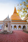 Phra Pathom Chedi, pagoda in Thailand. Stock Photography